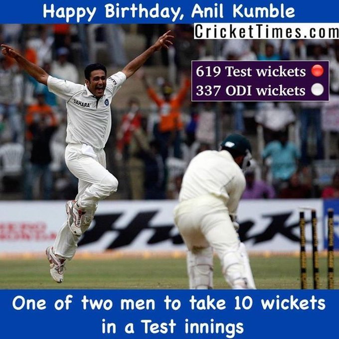 Happy Birthday, Anil Kumble