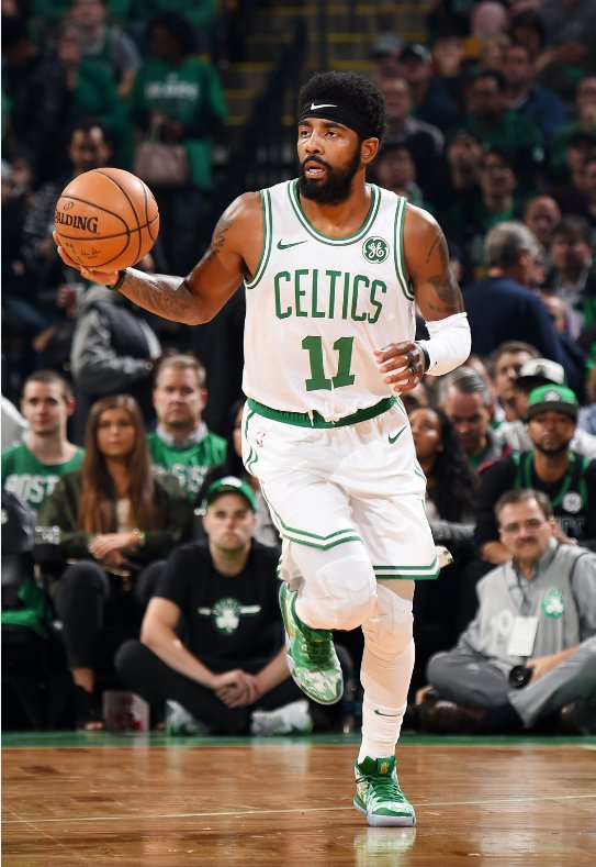 Kyrie Irving was held scoreless in the 1st half on 0-for-8 shooting  (0-for-5 from 3). Those 8 shot attempts are tied for his most without a  make in the ... cdb8302aad1