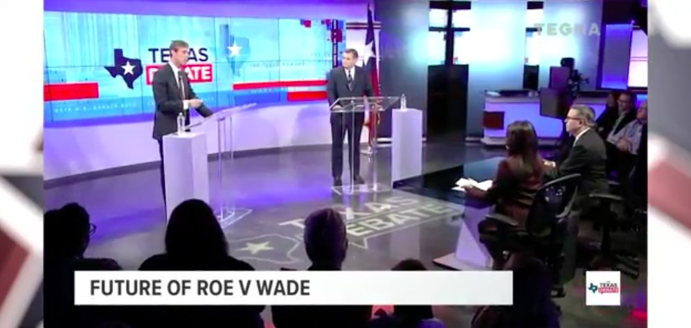 Pro-choice fighter @BetoORourke just proudly asserted that he would only vote to confirm SCOTUS justices who would uphold precedent and protect our Constitutional right to choose. Texas women and families deserve an ally like Beto. #TXSenateDebate #TXSen<br>http://pic.twitter.com/pyBrnRd1Z5