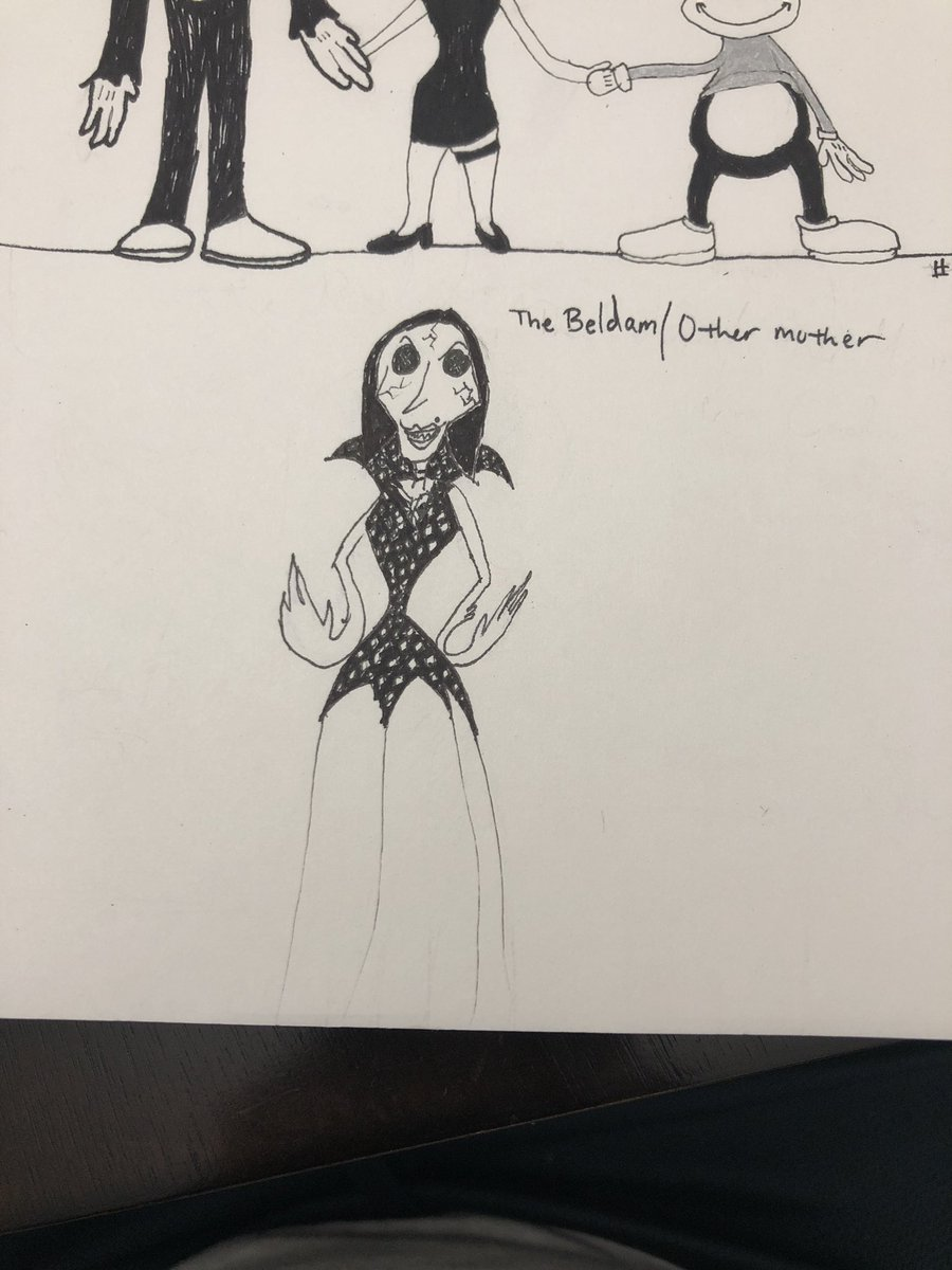 Yesenia Quinones On Twitter I M Doing Toontober And Today S Prompt Was Villain I Decided To Go With A Villain From A Childhood Movie Who Came From A Book I Finally Read About