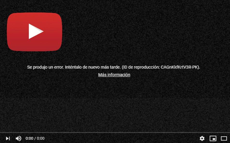No es tu servicio de Internet ��  #YouTube se cayó a NIVEL MUNDIAL https://t.co/n9y3rBmrAO #YouTubeDOWN https://t.co/mDsb0RNFbR