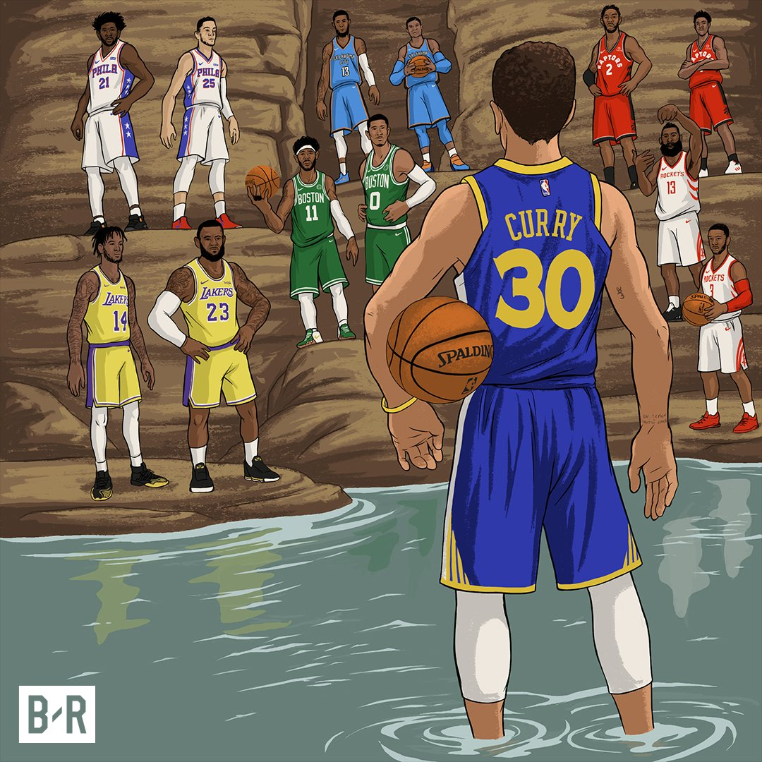 Is there any NBA team who wishes to challenge the Warriors for the throne?