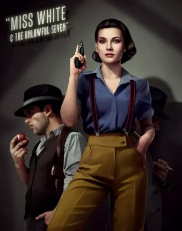 Disney princesses reimagined as noir characters, and more in today's Critical Linking: bit.ly/2J36fPX