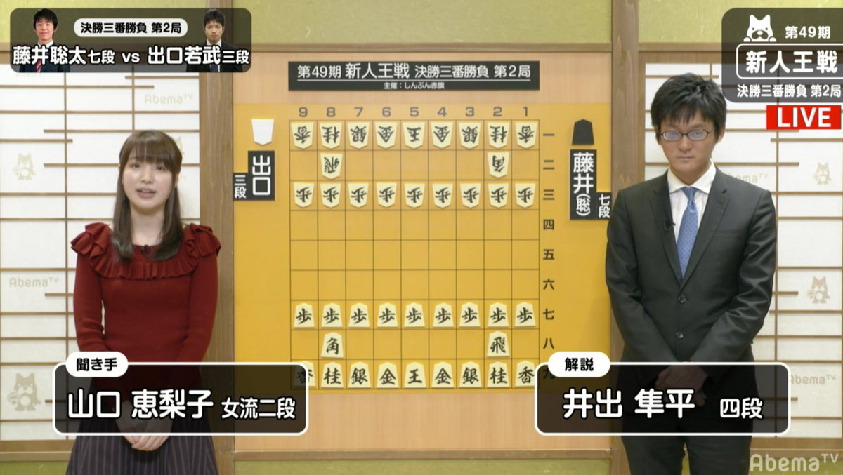 アベマTV将棋chさんの投稿画像