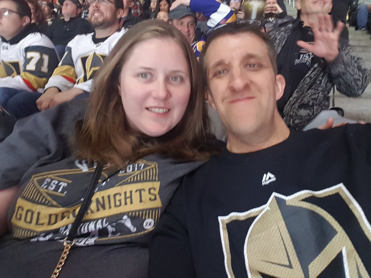 @GoldenKnights #GoKnightsGo  All  the way from Fredericton nb Canada to see the knights <br>http://pic.twitter.com/nD6AaQpBEl