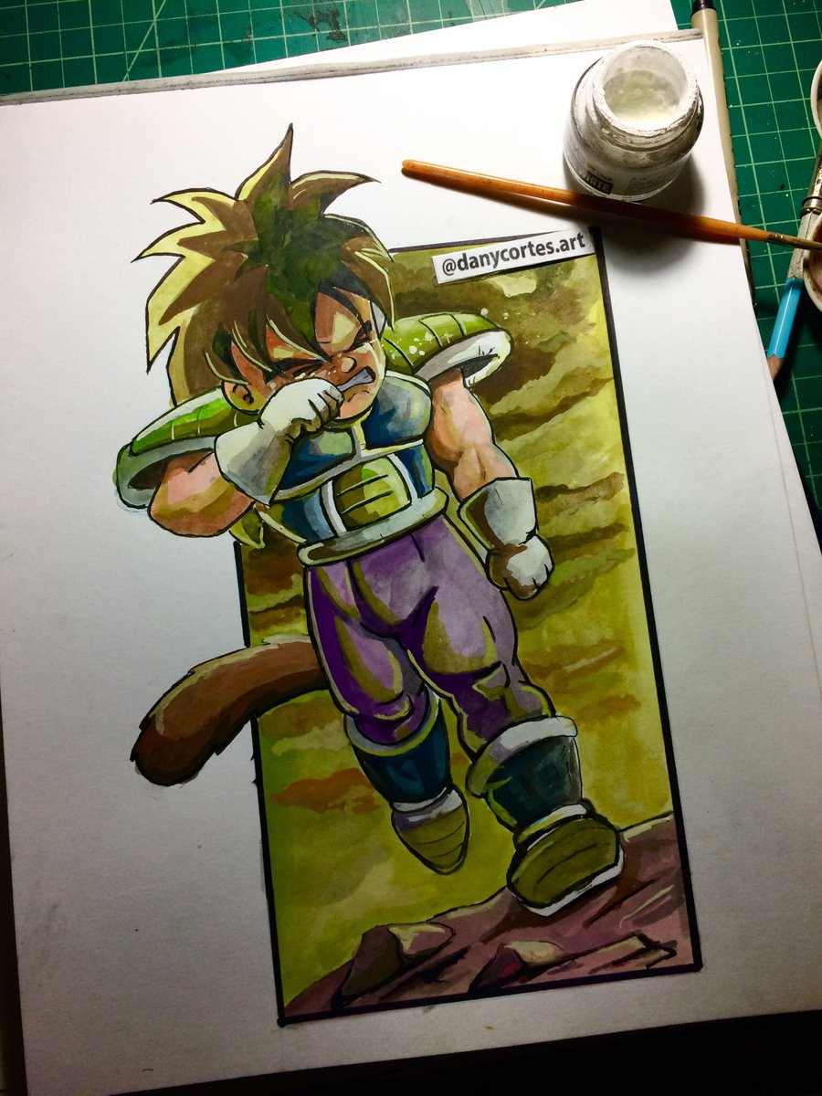 Mhorlack On Twitter Rate My Drawing From 1 10 Drawing Broly