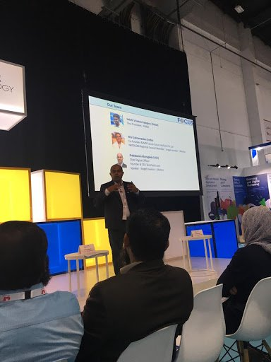 test Twitter Media - Focus session at Emerging Tech Talk - Can Robot recruit Humans? #Gitex #Gohls #Robotics https://t.co/TtExhpOoey