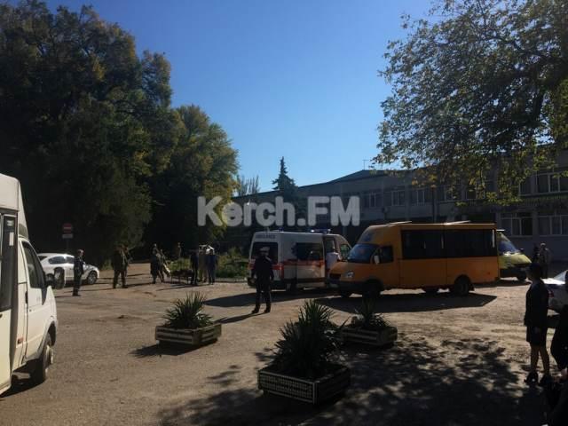 В Керченском политехе прогремел взрыв: ни скорых, ни носилок не хватает, для эвакуации пострадавших привлечен общественный транспорт, - Керчь.ФМ - Цензор.НЕТ 1511
