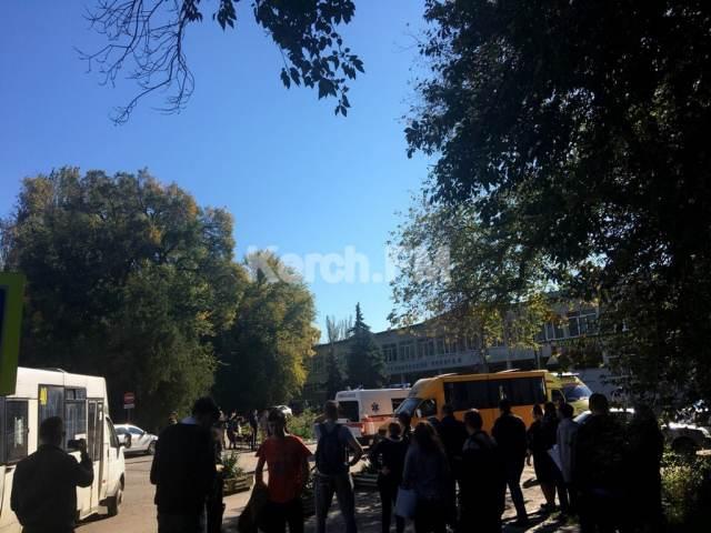 В Керченском политехе прогремел взрыв: ни скорых, ни носилок не хватает, для эвакуации пострадавших привлечен общественный транспорт, - Керчь.ФМ - Цензор.НЕТ 674