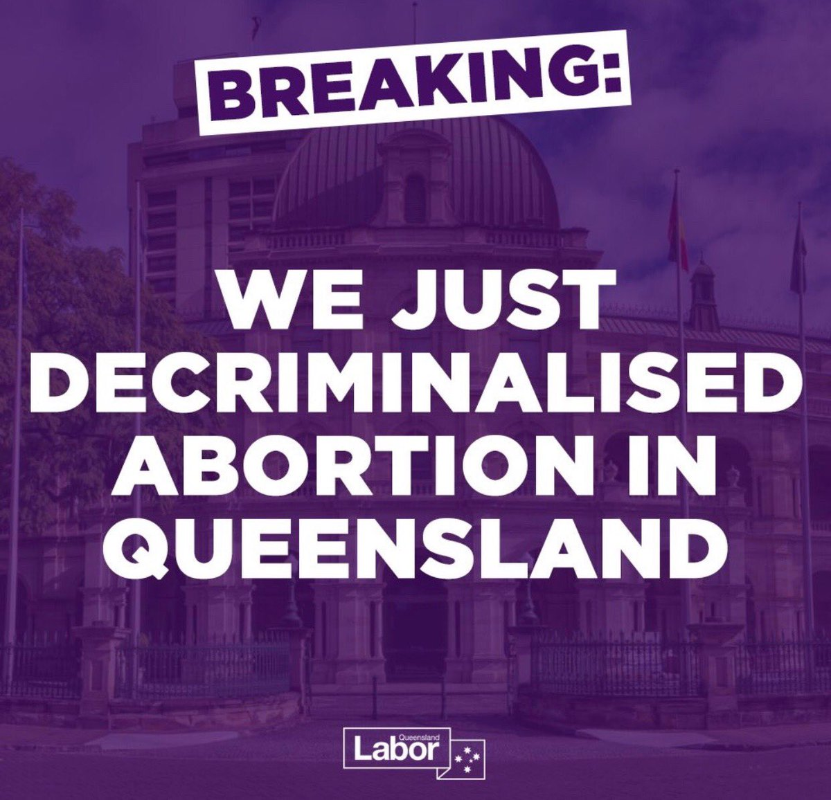 Queensland Becomes Latest Australian State to Decriminalize Abortion