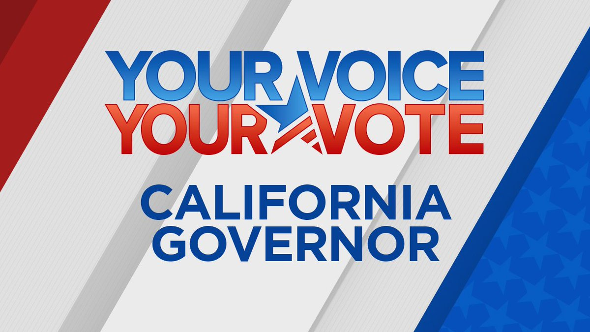 CALIFORNIA VOTES 2018: Here's a look at the candidates for governor on CA's November ballot, Gavin Newsom and John Cox https://t.co/6FgwKtihv9