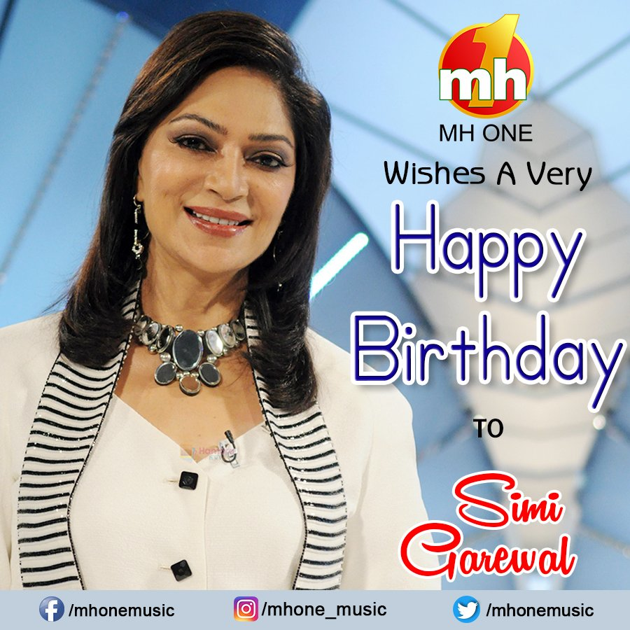 A very happy birthday to beautiful actress Simi Garewal !