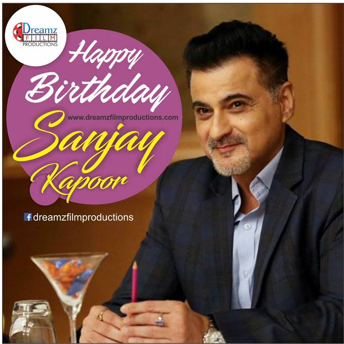 wishes a very  to Sanjay Kapoor (Bollywood Actor).