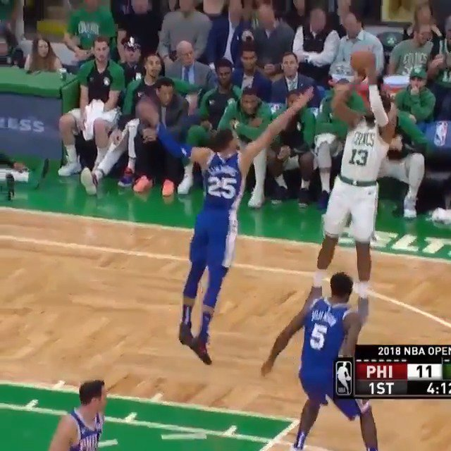 Terry Rozier & Marcus Morris combine for 27 PTS off the bench in the @celtics victory! #CUsRise #KiaTipOff18 https://t.co/GRmeIhUwzH