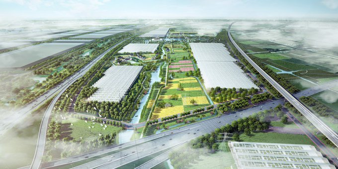 Startsein voor Chinees High-Tech Agriculture Park met Horti Center https://t.co/IJdjox6oAX https://t.co/xuBZtnlVhF