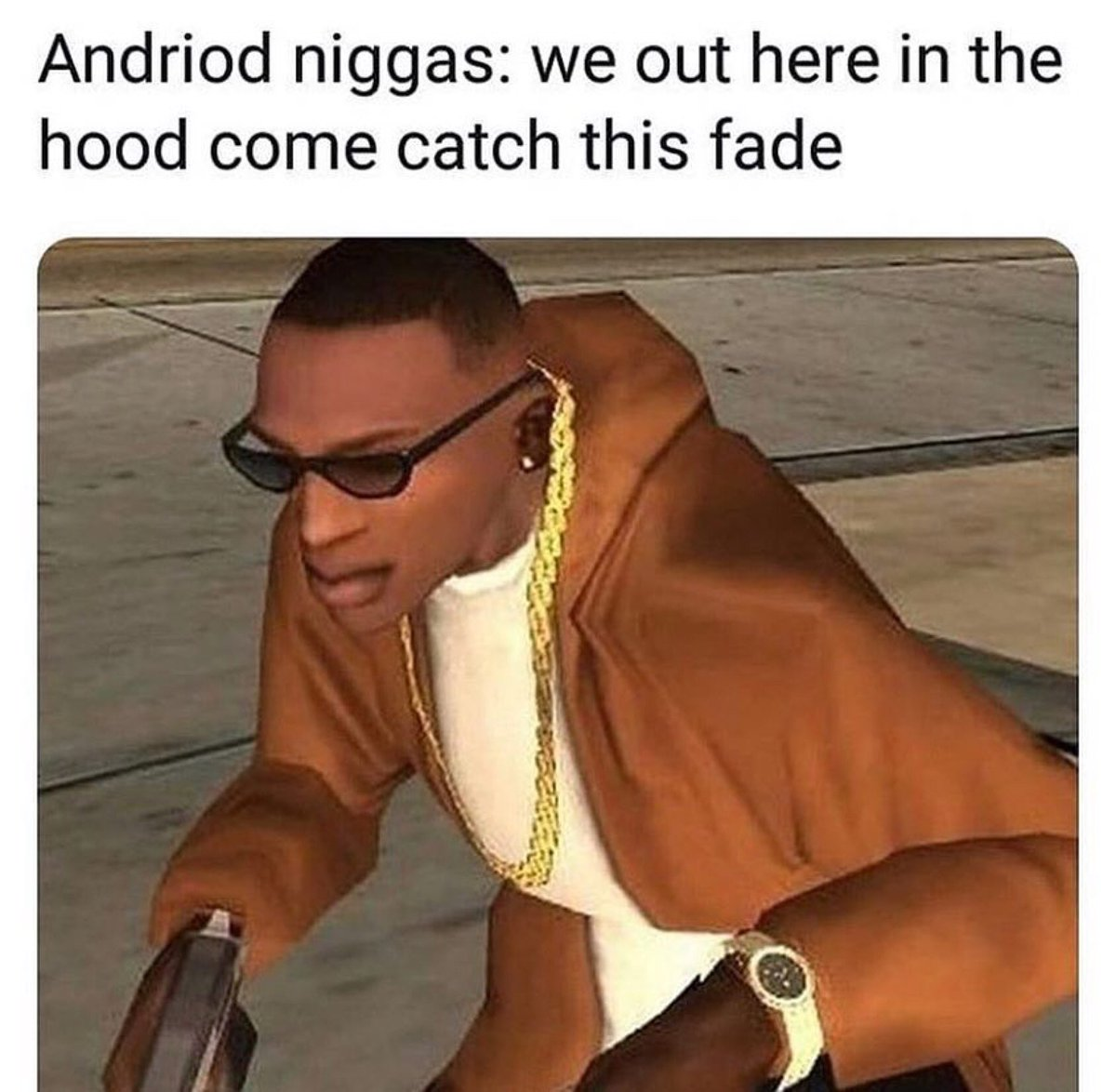 Tag an android user 😅