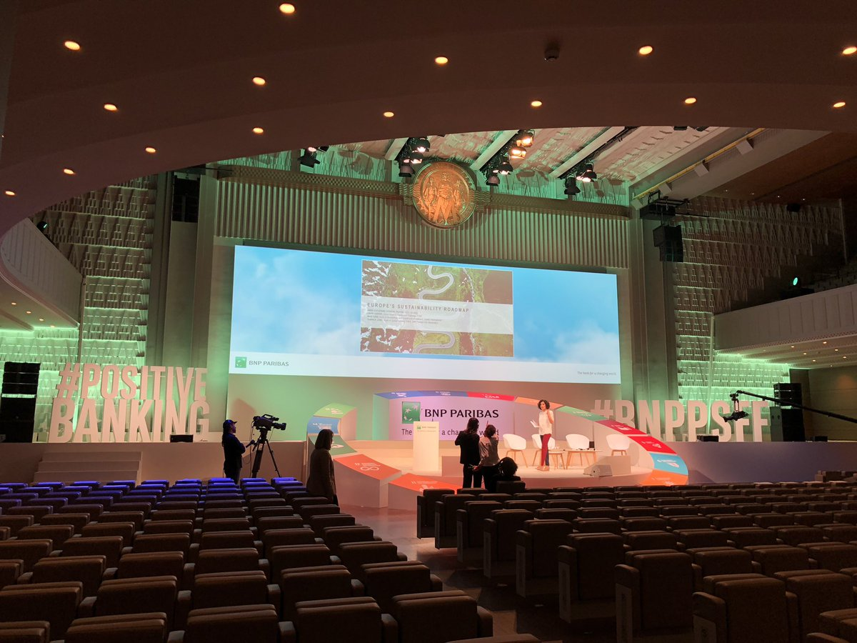 [#BNPPSFF]  40 min to go before the #Sustainable Future Forum 🌏🌱🏦 kicks off - #StayTuned   #PositiveBanking