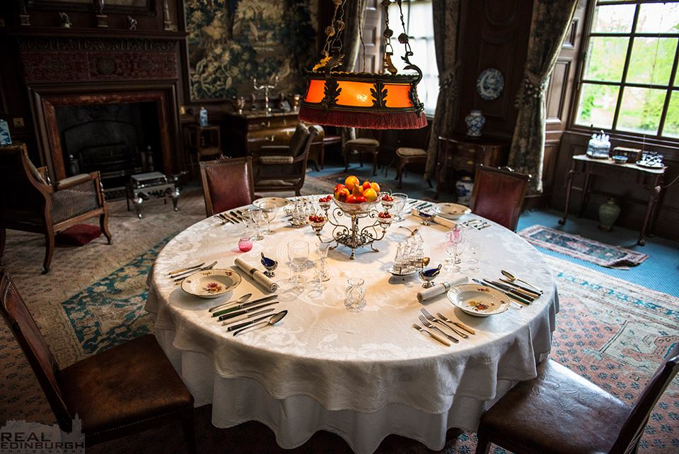 Edinburgh Museums On Twitter The Dining Table Set For An Edwardian Feast At Lauristoncastle For Information About Tours Of This Extraordinary Edwardian Interior And Our Extensive Events Programme Visit Https T Co Sbnilbnl6v Photograph By