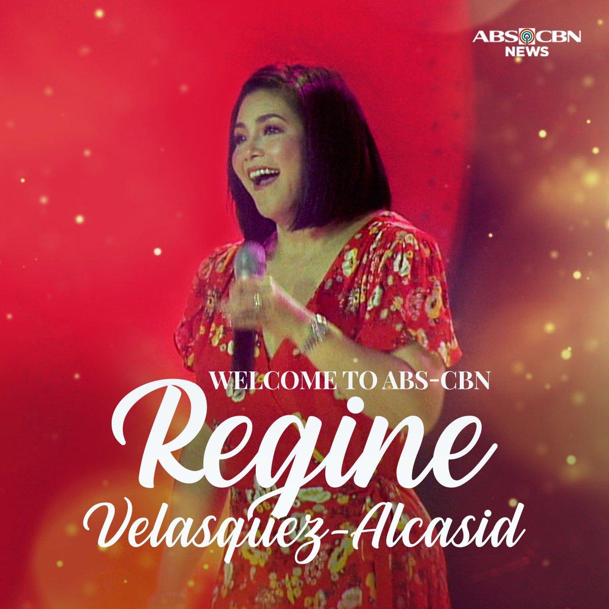 @mjfelipe The Asia's Songbird has found her way back home. Welcome to the Kapamilya network, Regine Velasquez-Alcasid! #SongbirdReturnsToABSCBN  https://t