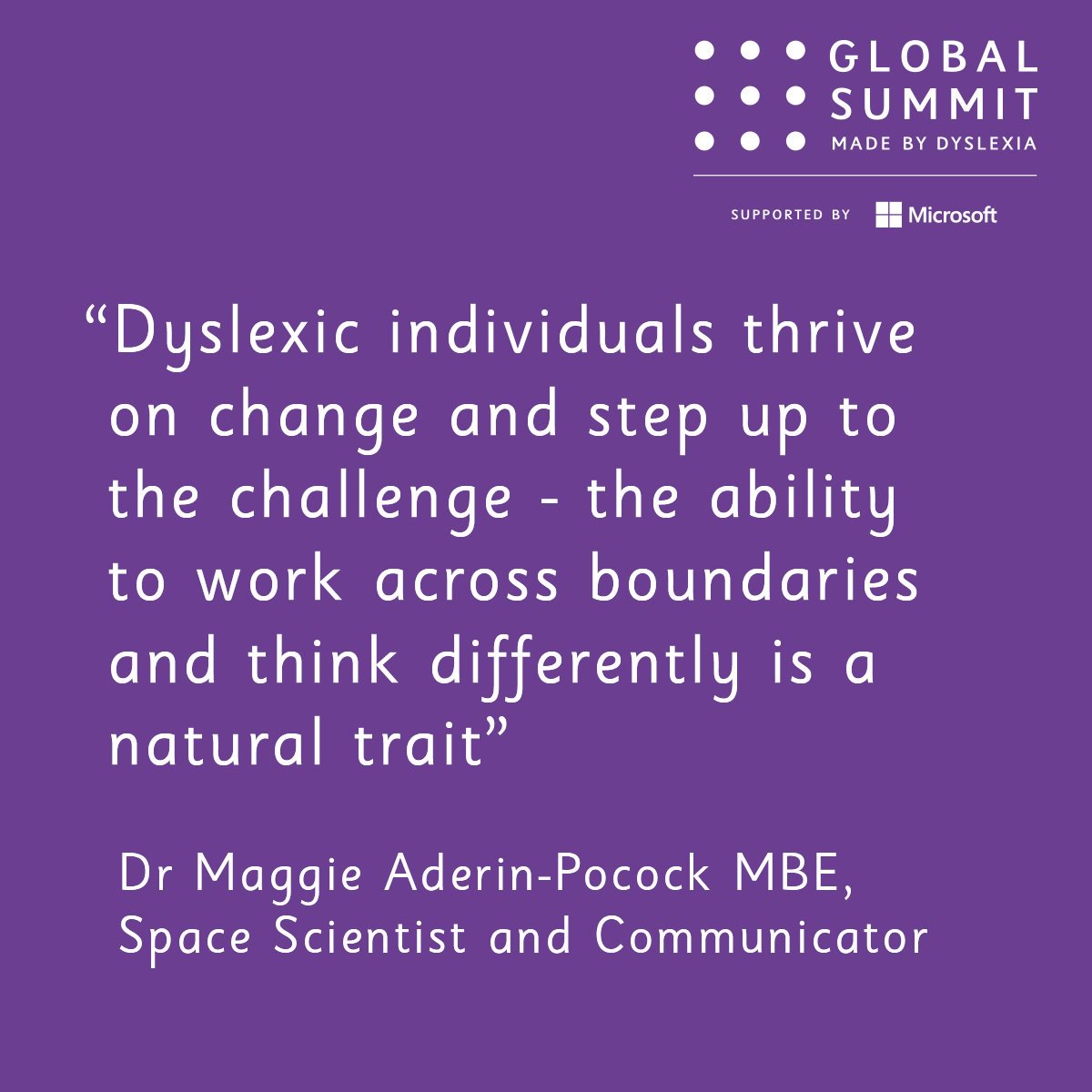 We should be supporting children with dyslexia to realise their potential, starting at school and running right through to the world of work https://t.co/bl5pMMiz7i