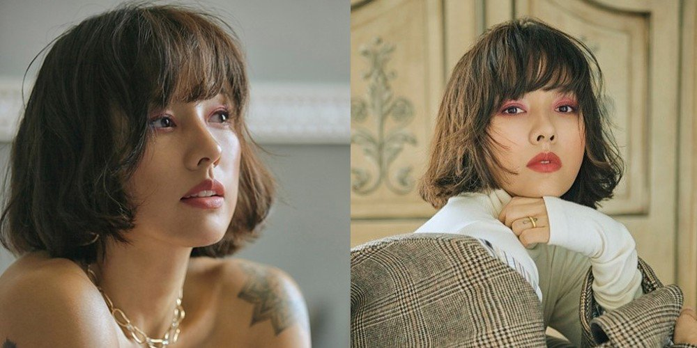 Lee Hyori goes for a short bob cut in 'Marie Claire' https://t.co/2Crvbqxgkj https://t.co/qK6Em3rzEB