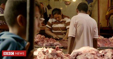 #VÍDEO Crise e falta de energia em cidade que tem a maioria das reservas de petróleo da Venezuela fazem população comprar carne podre e cadáveres explodirem em necrotérios;  https://t.co/toYfnhEnBf