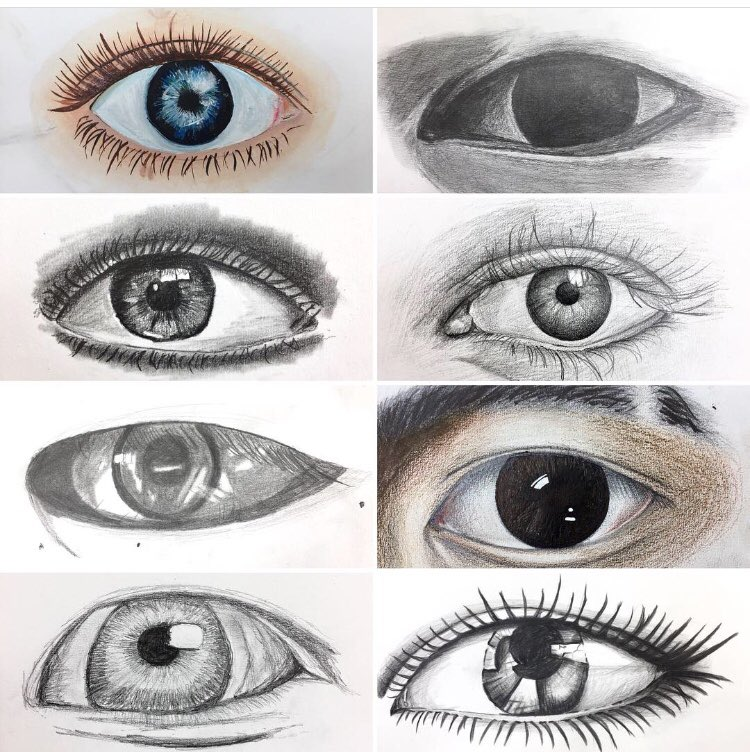 Kristine Emerson On Twitter Art 1 Sketches Of Their Eye