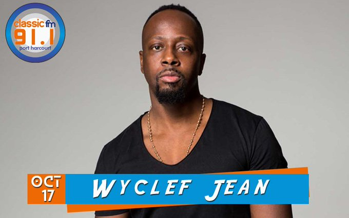 Happy birthday to rapper, musician and actor, Wyclef Jean.