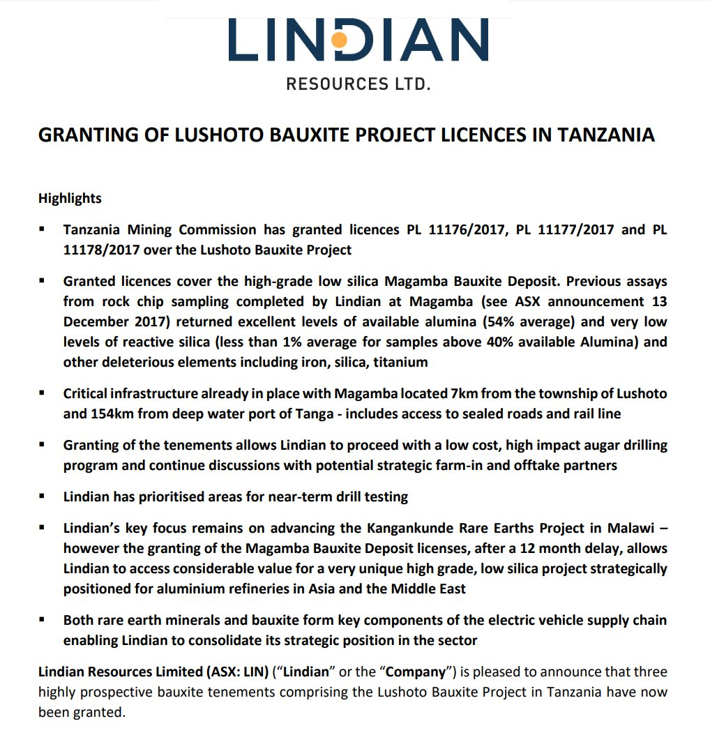 Lindian Resources on Twitter: