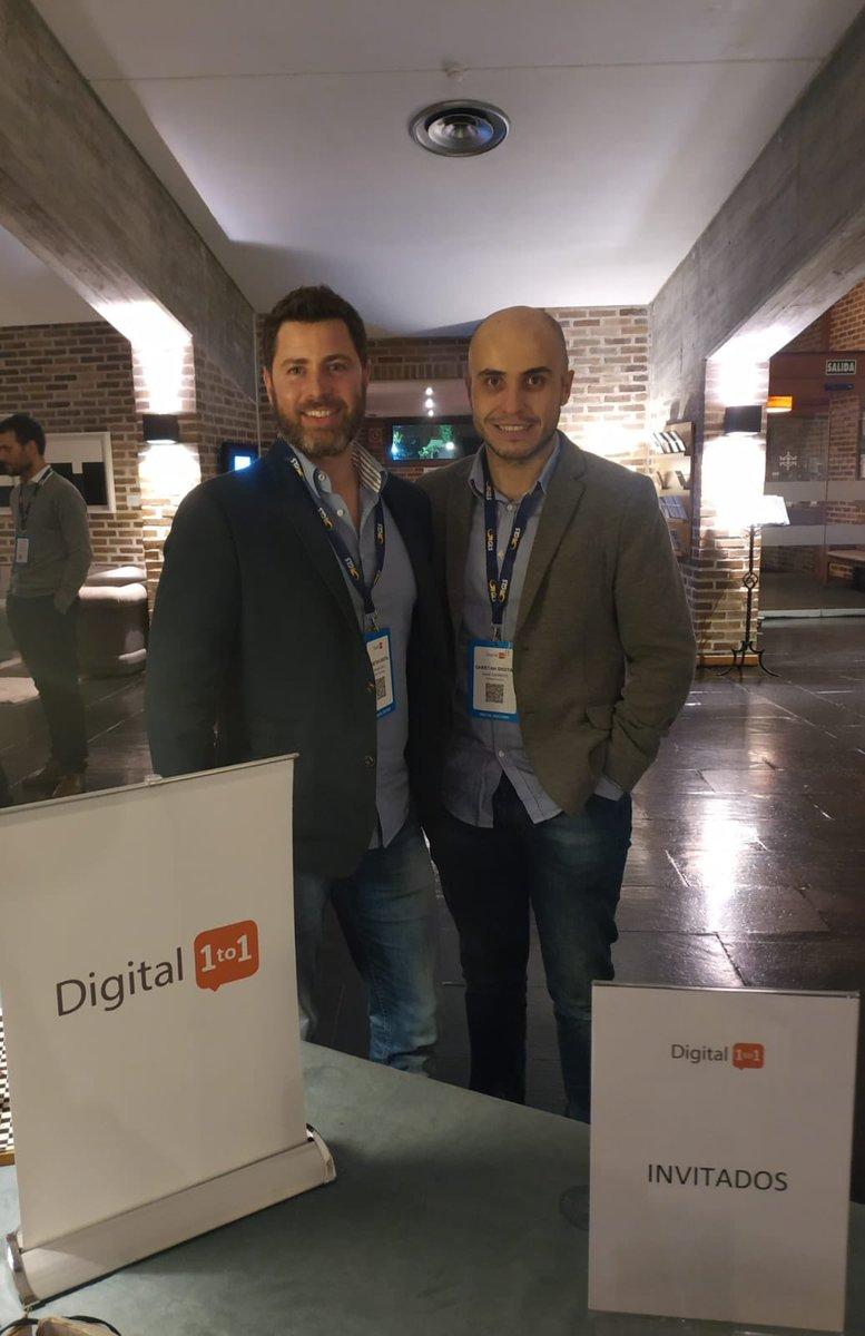 [EVENT] Es un placer parar Cheetah Digital estar presente en el #Digital1to1 del @Club_Ecommerce del 16 al 18 de octubre en Madrid. https://t.co/c8jxCK60BW