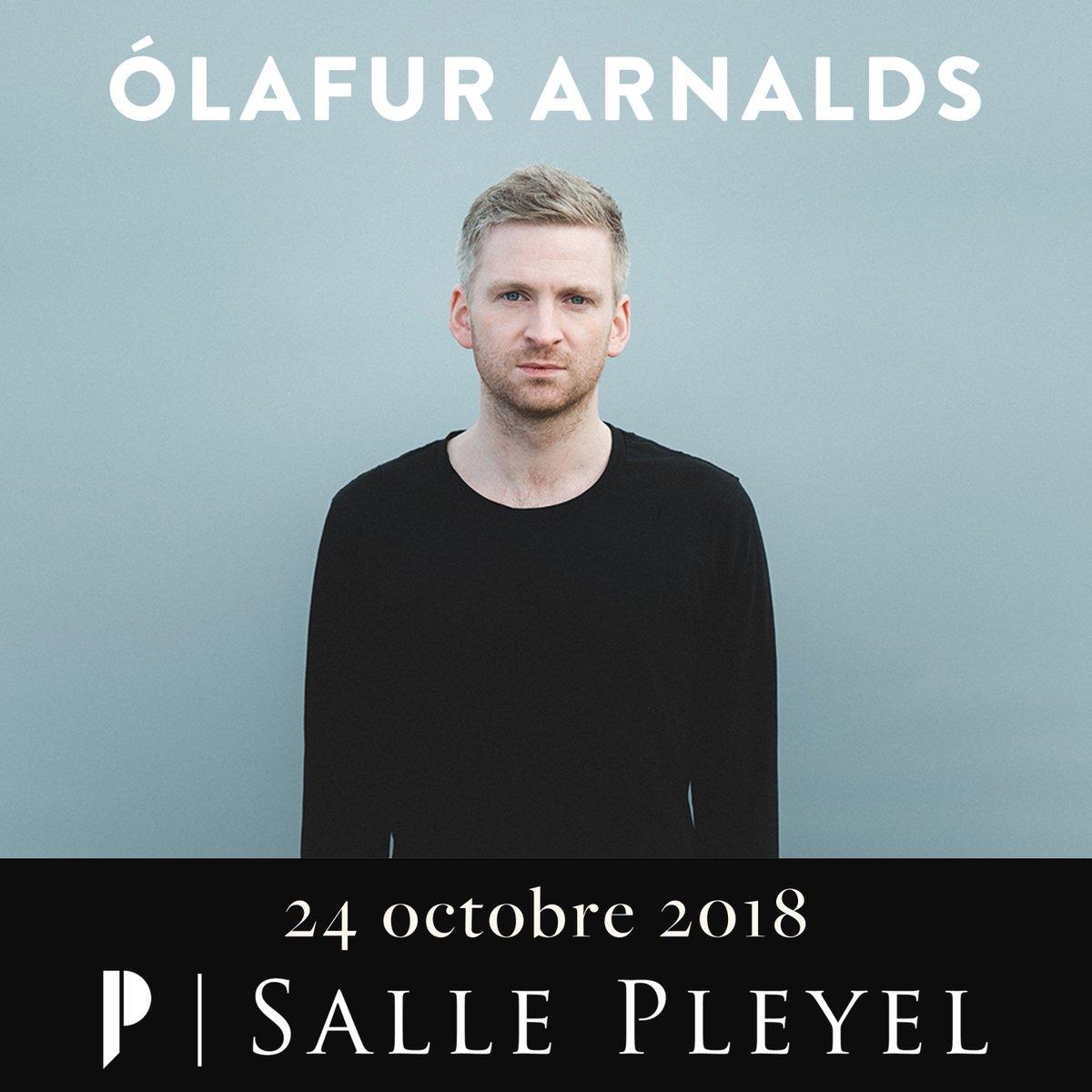 Retrouvez mercredi 24 octobre - @sallepleyel le compositeur contemporain islandais, @OlafurArnalds jouissant d'une notoriété égale à celle de Björk ou Sigur Rós dans son pays.  Billetterie > https: