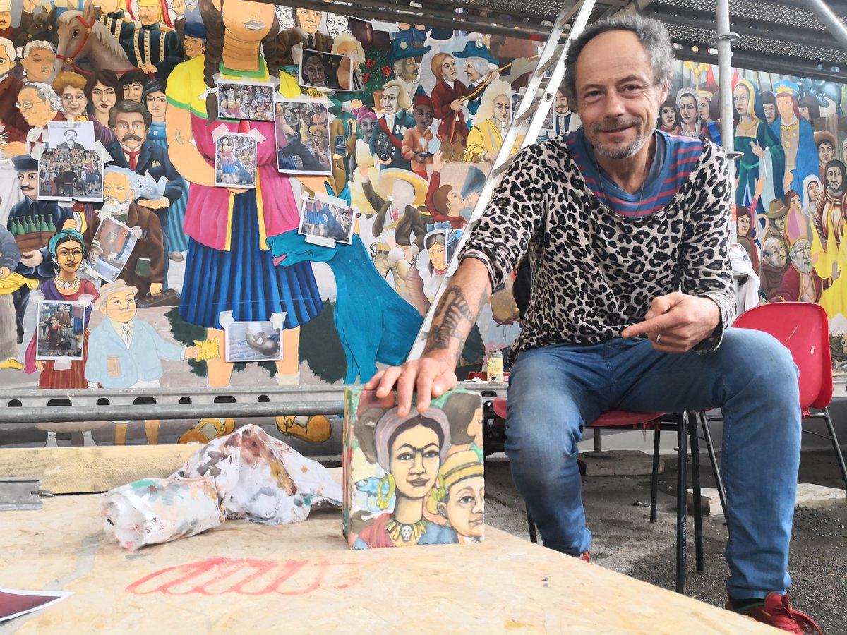 Stéphane Pajot S Tweet A Nantes La Fresque Murale De