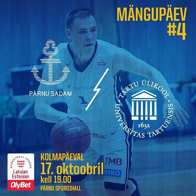 test Twitter Media - Täna on MÄNGUPÄEV! Kell 19.00 mängib Tartu Ülikooli korvpallimeeskond Pärnus oma järgmise OlyBet Latvian-Estonian Basketball League mängu @parnukorvpall meeskonnaga —- Today is GAMEDAY! At 19.00 University of Tartu basketball team will play Pärnu Sadam b… https://t.co/ZGxDkh6Me7 https://t.co/CsGJjofEyD