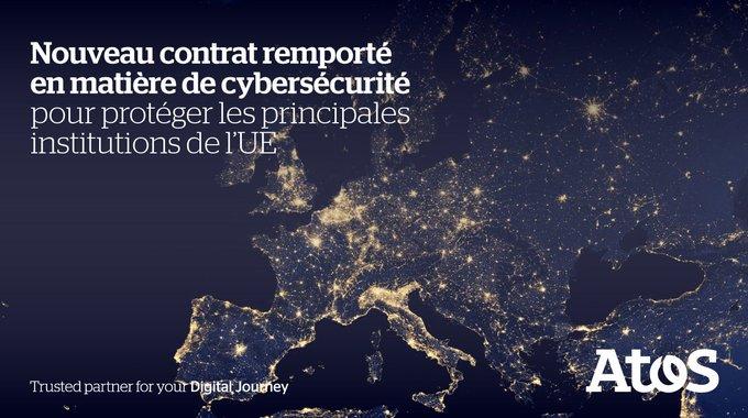 .@AirbusCyber a été sélectionné en partenariat avec Atos par le @EUCouncil pour la fournitur...
