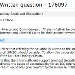 """So the UK regards taking Burma to the International Criminal Court as an """"option the UN… should consider"""". More states around the world must surely call for the UK, US and Saudi Arabia to be taken to the ICC for war crimes in Yemen. https://t.co/YxEfSSNPos"""