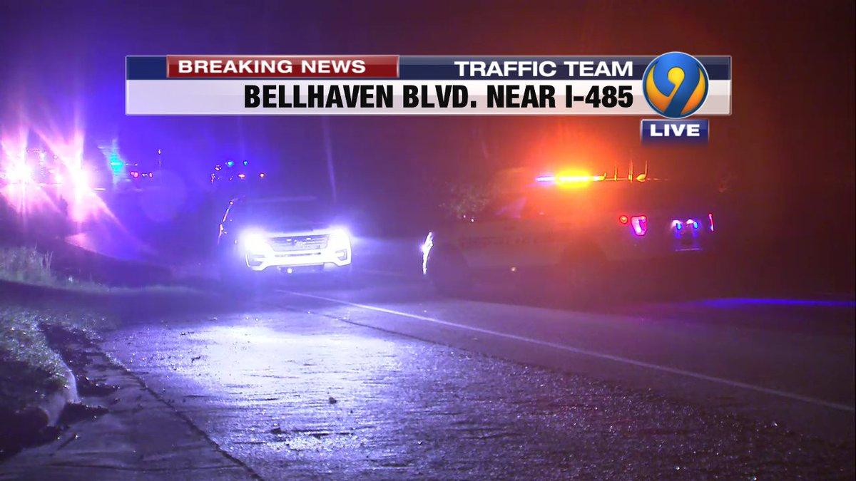 ALERT: Fatal crash still has Bellhaven Blvd. CLOSED prior to the I-485 bridge.  Details coming up on @wsoctv #cltraffic #clttraffic #clt<br>http://pic.twitter.com/o4j6fsZzkk
