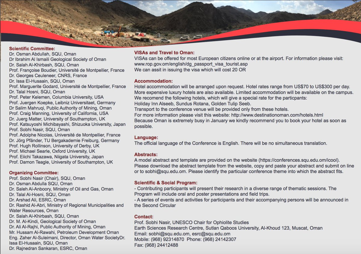 Oman DrillingProject (@OmanDrillProj) | Twitter
