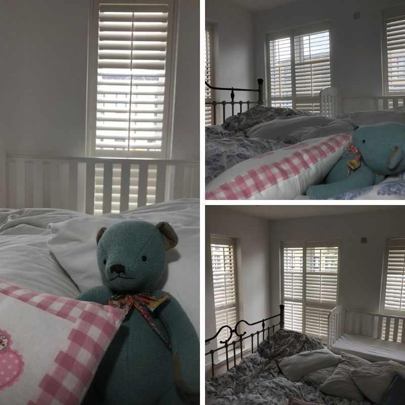 Shutters in your bedroom are perfect for keeping cosy in the winter and shutting out daytime sunlight.   Here&#39;s a recent project we completed in Somerset. #Somerset #Interiors<br>http://pic.twitter.com/trlrPjIJNJ