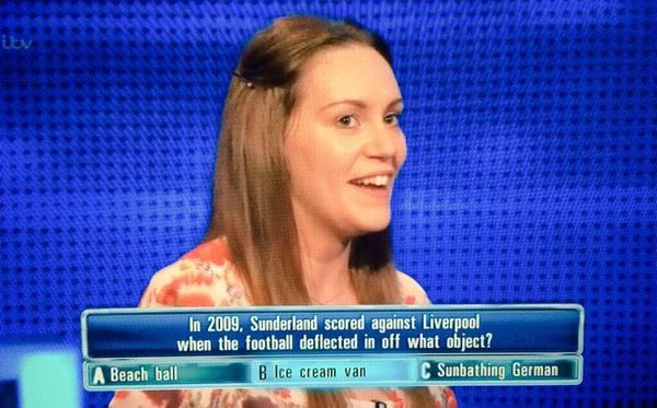 On this day in 2009, Darren Bent scored against Liverpool by kicking the ball against an ice cream van Photo
