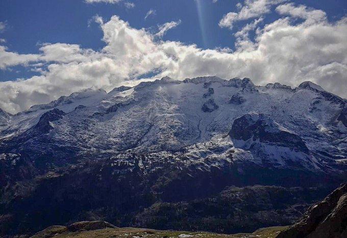 L'#aneto #aragon #pirineos depuis le port de #venasque #luchon #hautegaronne #Pyrenees 📷 Julien_am pour Météo Pyrénées #neige #nieve