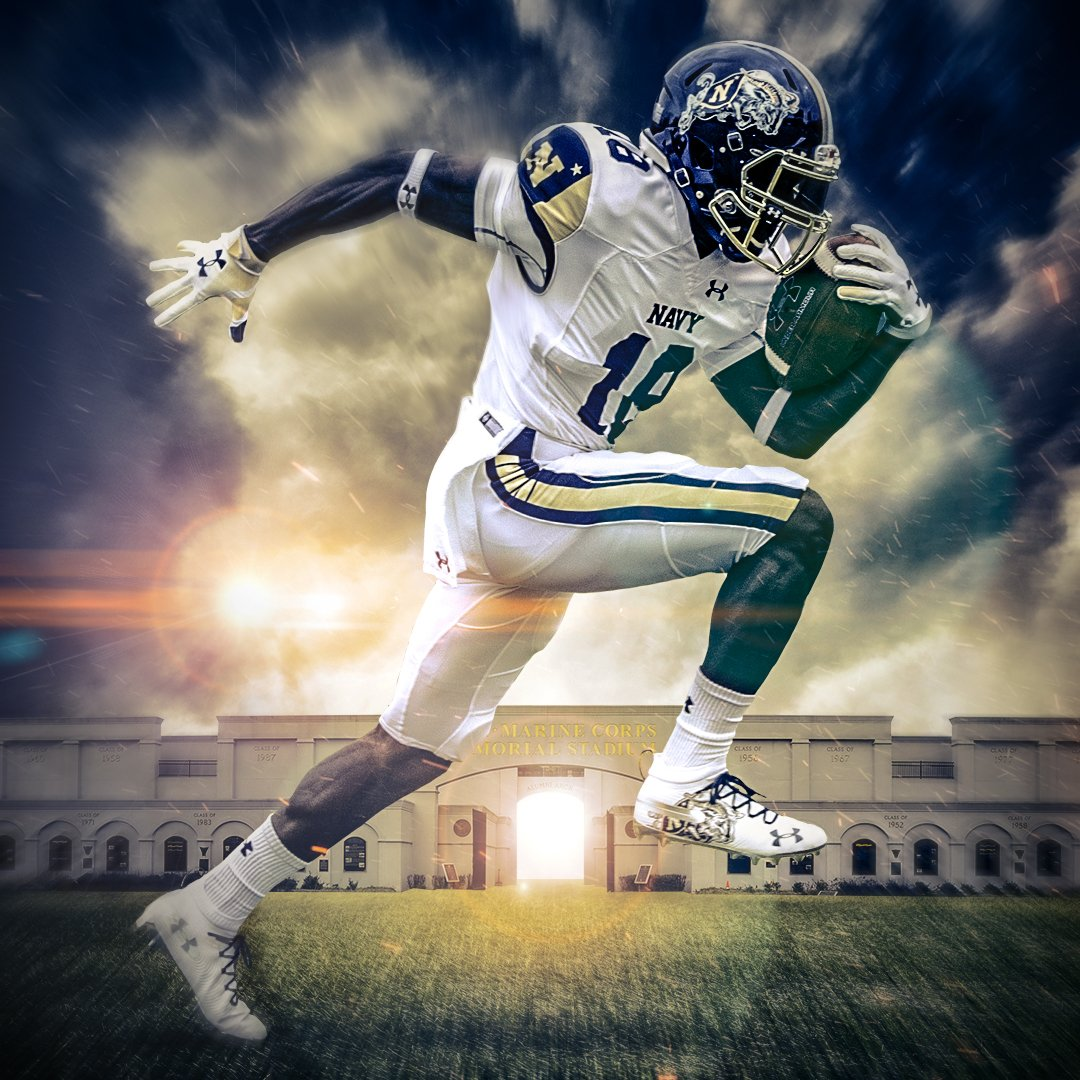 Flipboard  Navy Football Unveils Stunning Uniforms For Army-Navy Game e7ff610dd