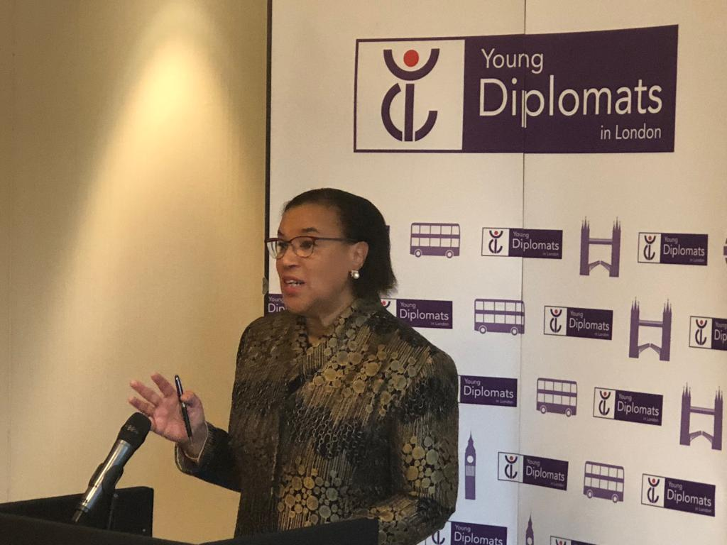 test Twitter Media - Great talk and interactive Q&A with @PScotlandCSG at the @ydlondon today about the role of the #Commonwealth and the importance of diplomacy in troubled times. https://t.co/VjjKfVFjhd