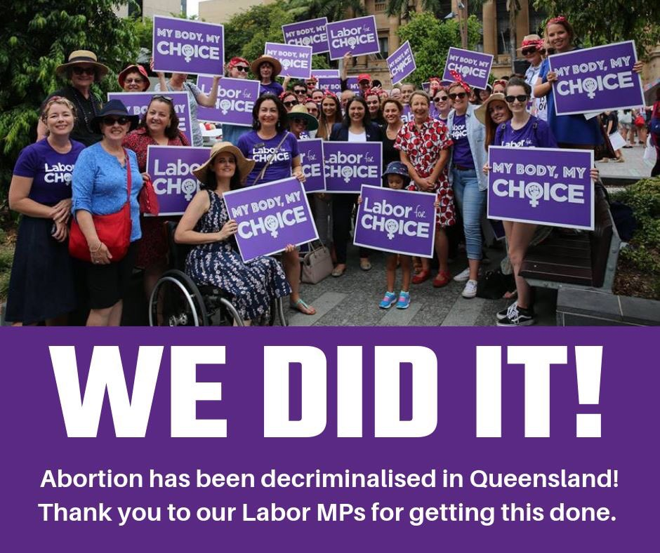 Labor For Choice Qld (@Labor4ChoiceQld) | Twitter