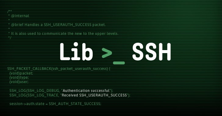 ⚡Ridiculously 'Simple to Exploit' LibSSH Authentication Bypass Flaw (CVE-2018-10933) Allows Attackers to Take Over Vulnerable Servers Without Requiring Passwords  https://t.co/mYe275ULv8  🤔HINT → Just Tell the Server You Have Successfully Logged-In, It Will Trust You!