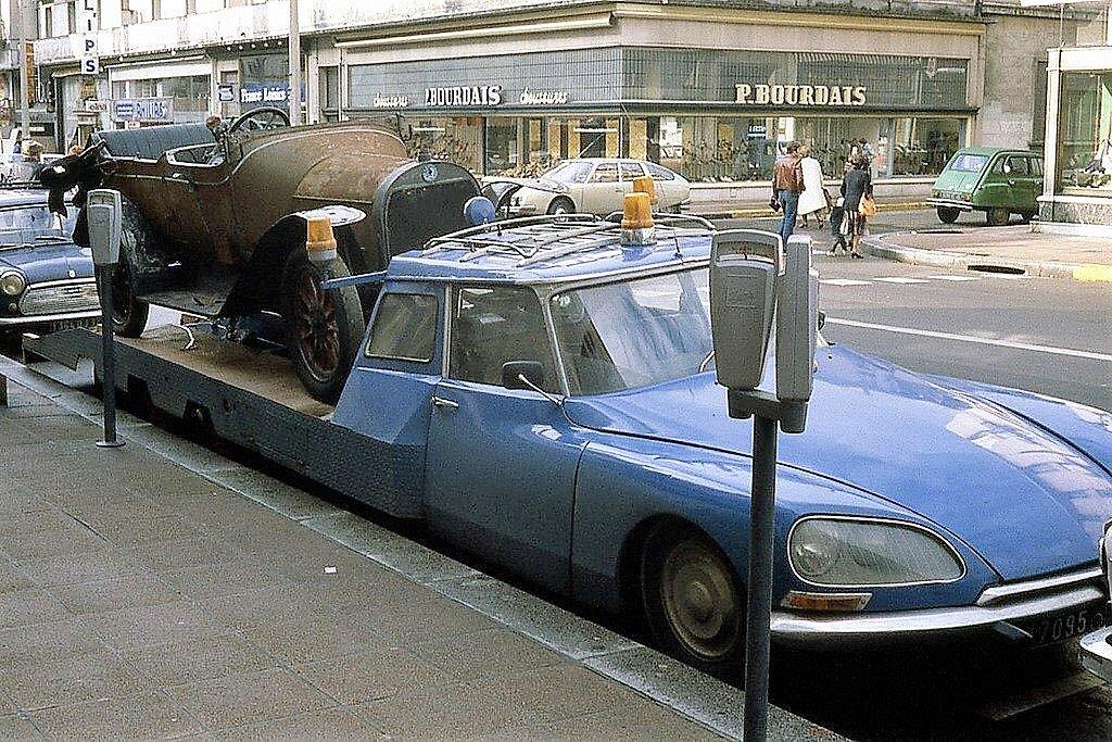Citroen car transporter