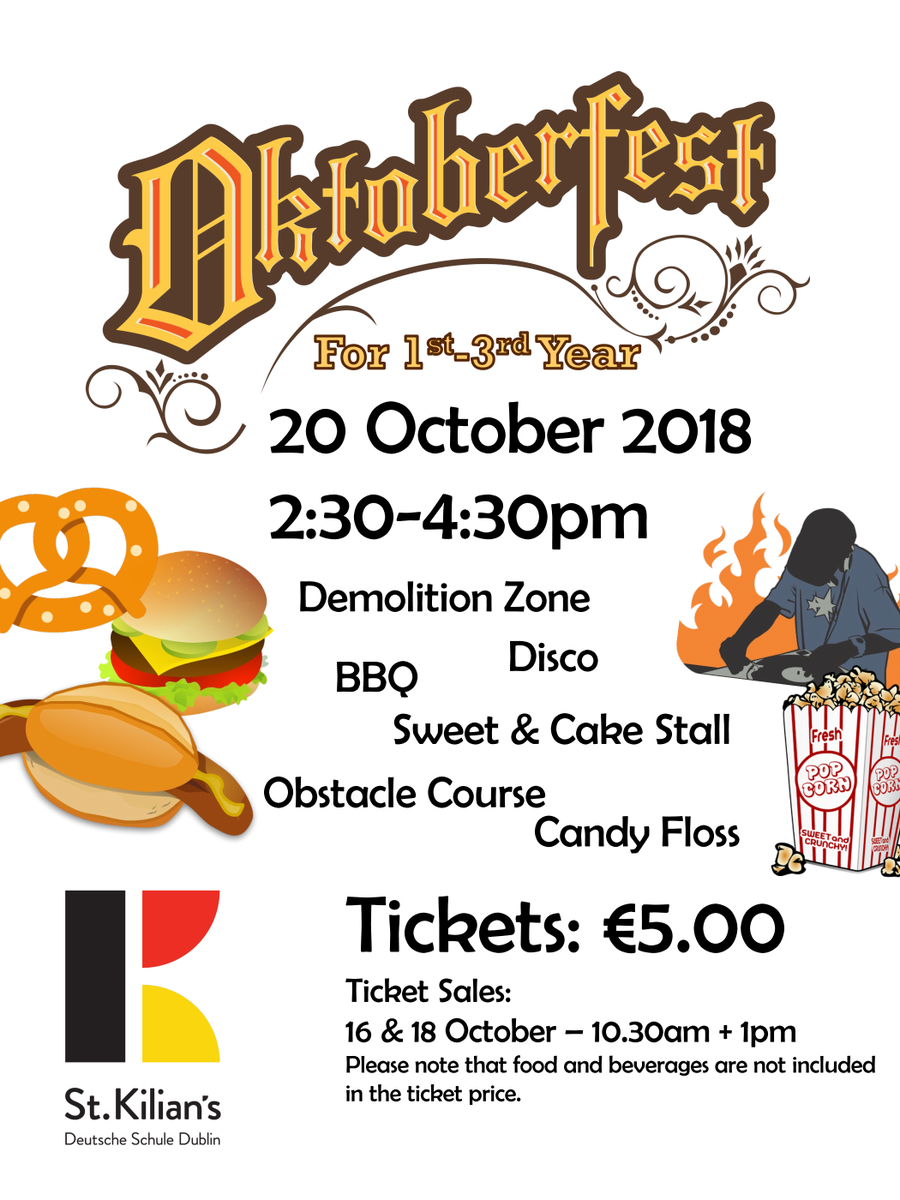 test Twitter Media - Get your tickets for the St. Kilian's Oktoberfest from the P.A. reps tomorrow during morning and lunch break. The event is open to all Eurocampus students in classes 7-9. https://t.co/ZdhkvyKzvY