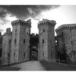 Image for the Tweet beginning: RT @mrtngriffiths: Moody Raglan Castle