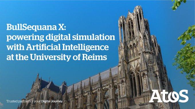 Nous lançons avec @universitereims « ROMEO », l'un des supercalculateurs les plus...