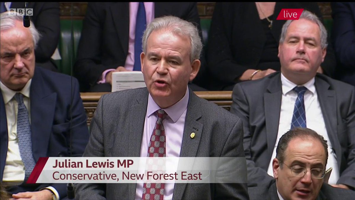 "Whod build a hard border in Northern Ireland? The Irish wont, the British wont Unless the EU army plans to march in and build it, it surely can never happen"" - spot-on from Conservative MP Julian Lewis EU must stop playing its flippant games. #PMQs"