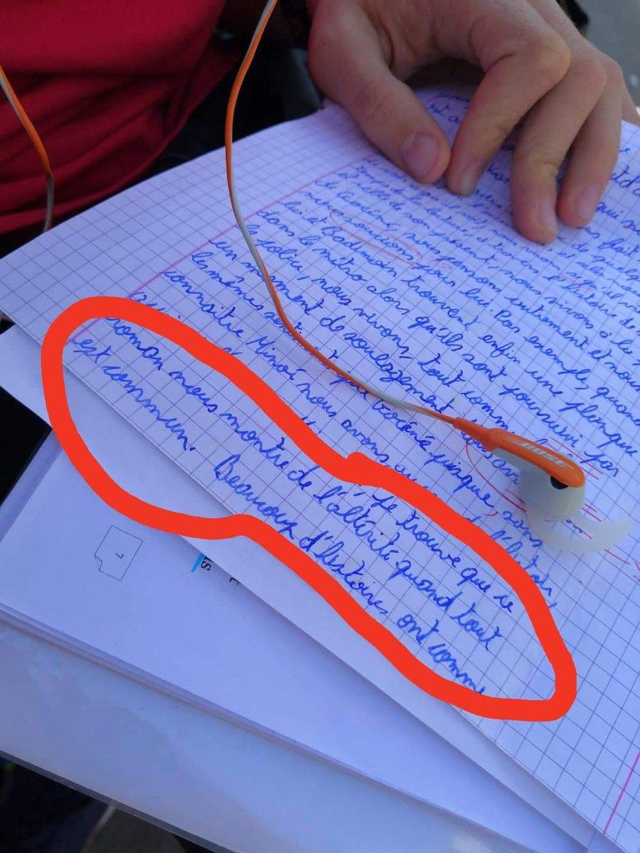 Quand @THEDAMSO te sauve la  en français #NMI #damso #rapfrancais #citation #ecole  - FestivalFocus